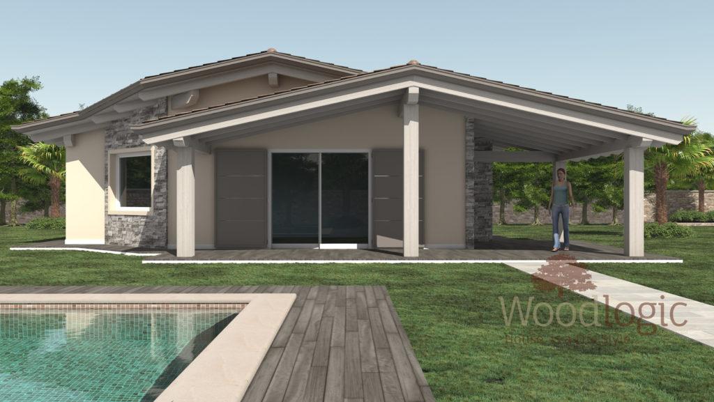Kager case in legno prefabbricate parma 01 864 450 864 450 for Ville con portico in legno